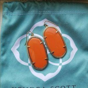 Kendra Scott Orange Danielles